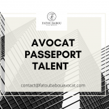 avocat passeport talent