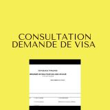 demande de visa d'entrée en france